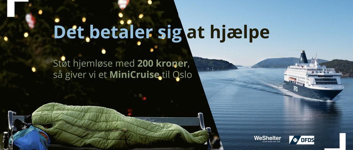 Gavekort til minicruise til Oslo