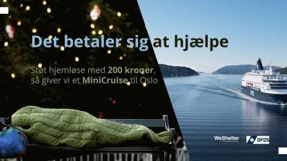 Støt hjemløse og få et MiniCruise til Oslo