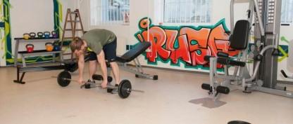 Kom med i motionsfællesskabet på et misbrugscenter på Amager