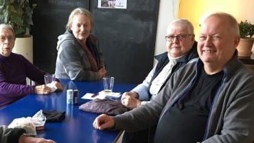 Jørgen Hansen, daglig leder i Pegasus, går på pension