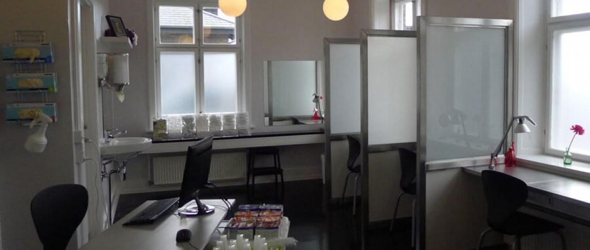 Nyt permanent stofindtagelsesrum åbnet på Mændenes Hjem
